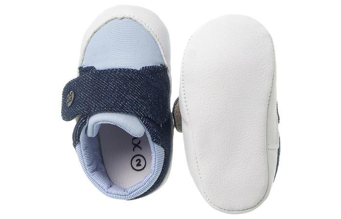 Tênis Infantil Masculino Jeans Claro Casual Neném - Xuá Xuá