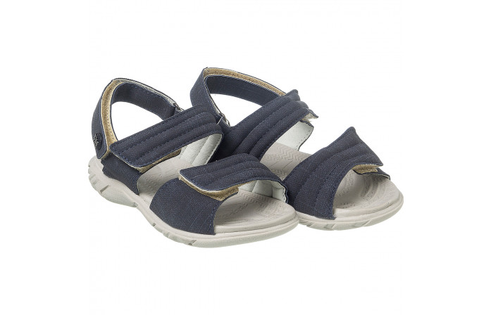 Sandália Infantil Masculina Casual Comfort Marinho - Xuá Xuá