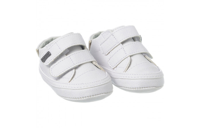 Tênis Infantil Masculino Casual Neném Branco - Xuá Xuá