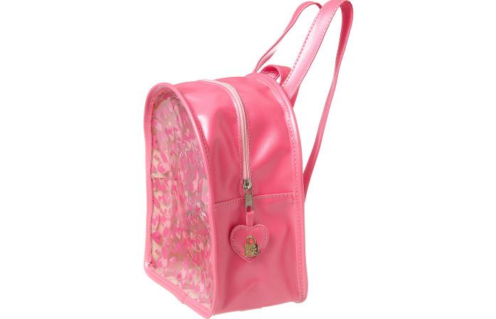 Bolsa Infantil Feminina Corações Pink  - Xuá Xuá