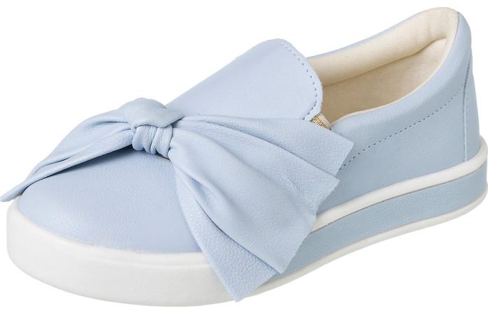 Tênis Infantil Feminino It Girl Laço Azul Claro - Xuá Xuá